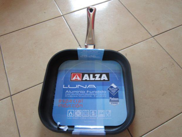 Pánev hranatá ALZA 28x28 ze slitiny AL/Si